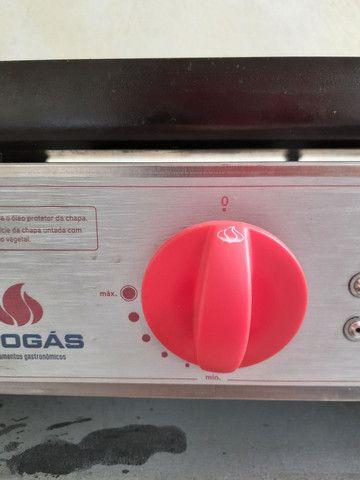 Chapa char broiler pró gás  - Foto 6