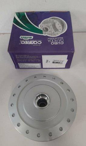 Cubo roda dianteira titan 150 04/13-freio tambor marca cobreq - Foto 2