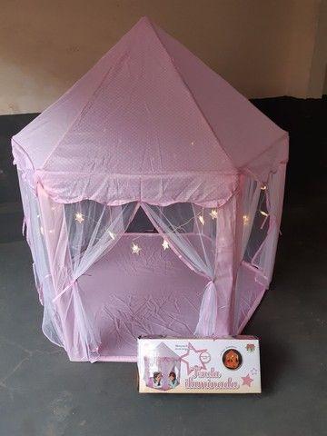 Tenda iluminada com luzes decorativas-  marca- dm/ toys. - Foto 2