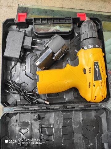 Parafusadeira a bateria Chevrolet 12v - Foto 2