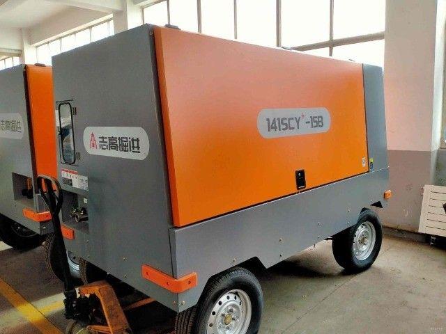 Compressor novo para poço 15 Bar, 550 Pcm, com motor cummins - Foto 5