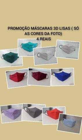 PROMOÇÃO MASCARAS 3D LISA 4 reais.entregamos na sua casa