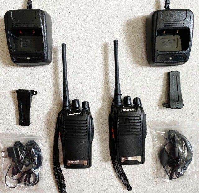 Rádio Comunicador Walk Talk Baofeng 777s Kit 1 Par - Foto 4