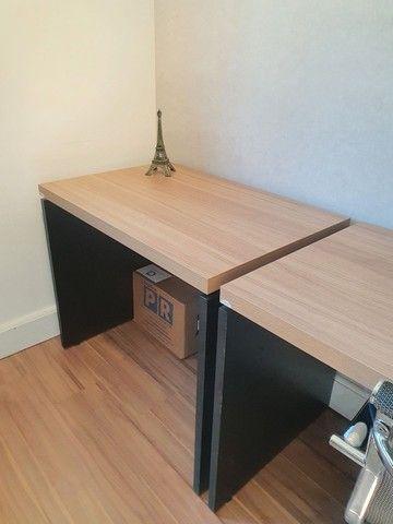 Mesa de escritório nova - Foto 3