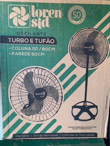 Ventilador De Parede Loren Sid Tufão 60 Centímetros127/220v Bivolt (novo) - Foto 3