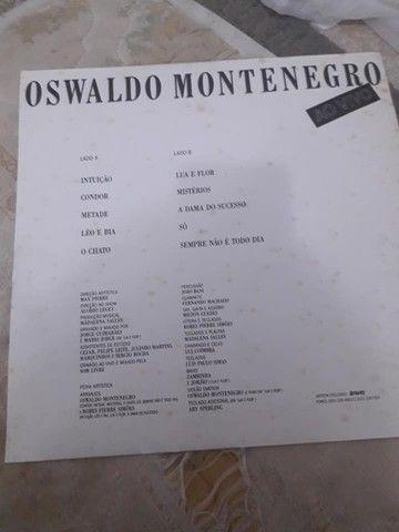 LP Oswaldo Montenegro ao vivo excelente estado - não aceito troca - Foto 3