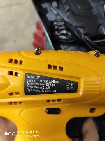 Parafusadeira a bateria Chevrolet 12v - Foto 4