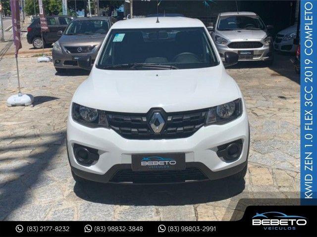 Renault Kwid Zen 1.0 Flex 2019 Completo