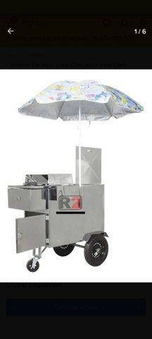 Vendo carrinho pra açaí , sorvete, ou salada de frutas  - Foto 3