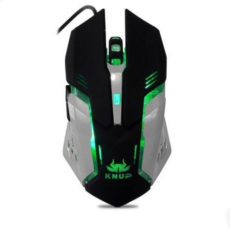 Teclado e mouse Gamer Knup KP-2054 - Foto 6