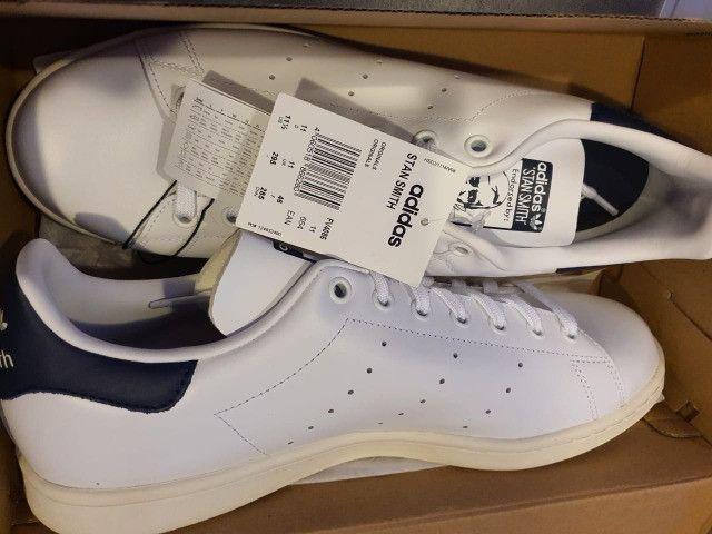 Tenis adidas - stan smith - original/novo - 43(11 1/2)