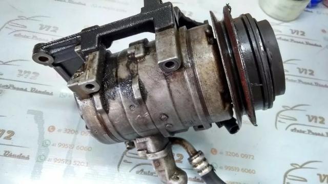 Compressor do ar condicionado Mitsubishi Pajero Full 3.2