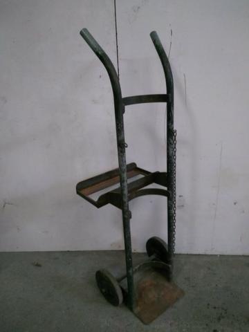 Carrinho Porta Cilindro Em Aço - 2187 - Foto 2
