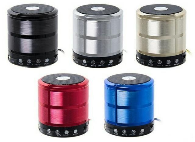 Caixa De Som Bluetooth Mp3 Fm Caixinha Wireless Usb Pendrive - Foto 4