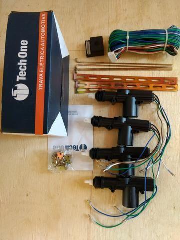Kit Trava elétrica automotiva universal