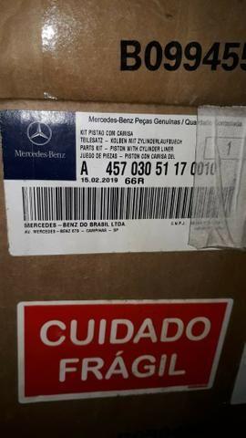 Jogo de Pistões, Anéis e Camisas Motor O500 Euro III Mercedes Bens - Foto 8