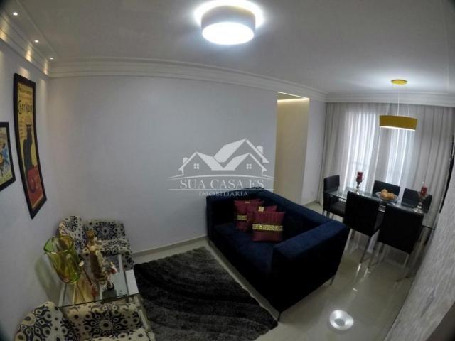 Apartamento à venda com 3 dormitórios em Colina de laranjeiras, Serra cod:AP184LE - Foto 2