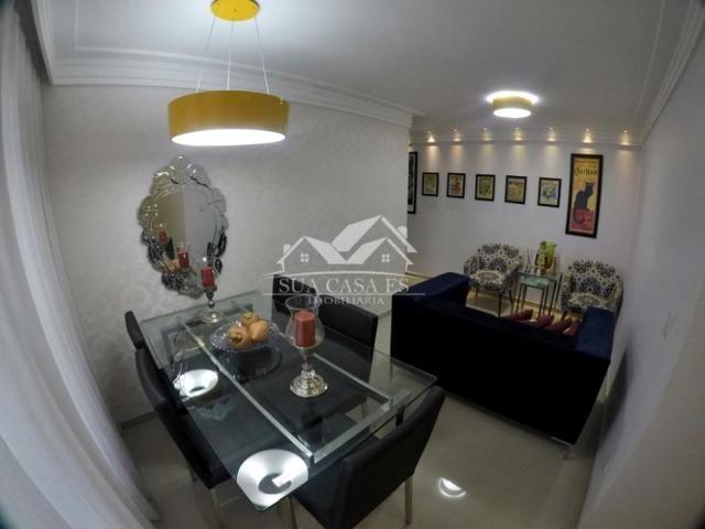 Apartamento à venda com 3 dormitórios em Colina de laranjeiras, Serra cod:AP184LE - Foto 4