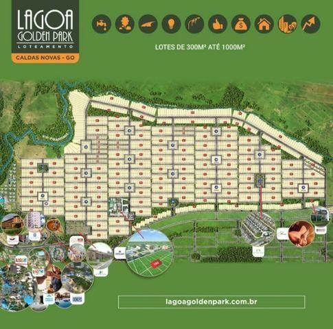 Loteamento Lagoa Golden Park - Caldas Novas GO. R$316 por mês - Foto 10