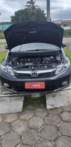 Honda Civic 2014 2.0 LXR Automatico Couro Emplacado - Foto 12