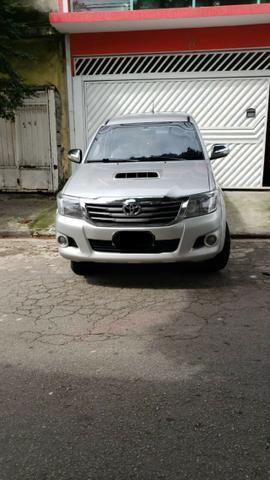 Toyota Hylux CD 3.0 SR 4 x 4, Ano 2013, Òtimo Estado, Aceito Troca - Foto 4