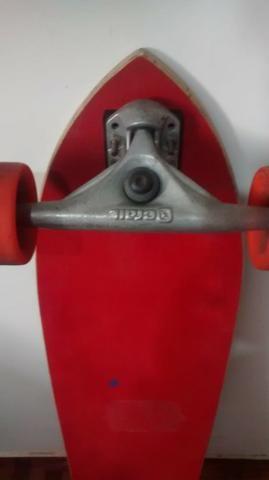 Skate long board - Foto 3