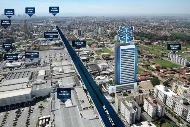 Sala comercial E-Businnes, Av. Rio Verde, 64m, 2 vagas - Foto 2