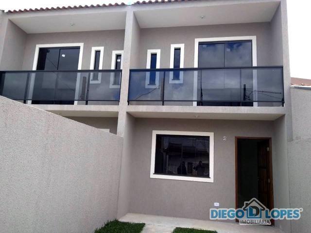 Casa à venda com 2 dormitórios em Cidade industrial, Curitiba cod:279