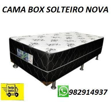 Compre e Receba No Mesmo Dia Cama Box Solteiro Nova Apenas 299,00