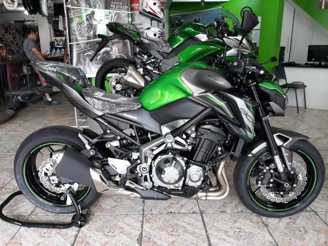 Kawasaki Z 900 Verde 2019
