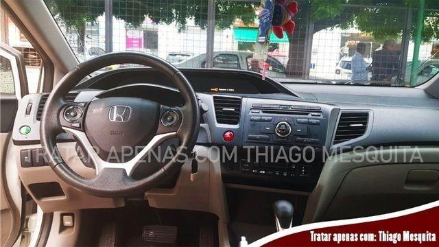 Honda Civic 2015/2016 LXR 2.0 em estado de novo, pneus bons - Foto 5