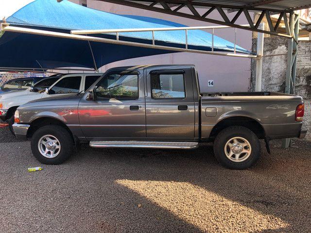 Ranger XLT Diesel 4x4 1999 * Único dono - Foto 2