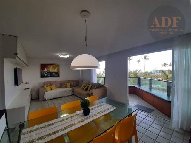 Âncorar - apartamento duplex - 3 quartos à Beira-mar de Porto de Galinhas Locação por Temp