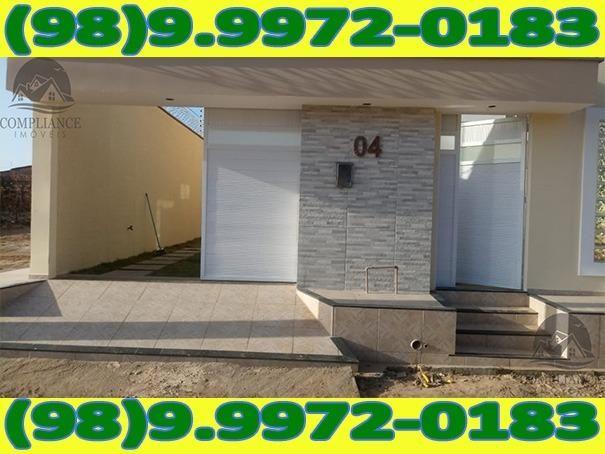 4I1Excelente Casa Nova Com Dois Quartos No Altos Do Turu - Foto 2
