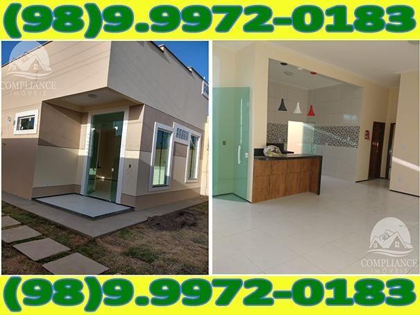 4I1Excelente Casa Nova Com Dois Quartos No Altos Do Turu - Foto 6