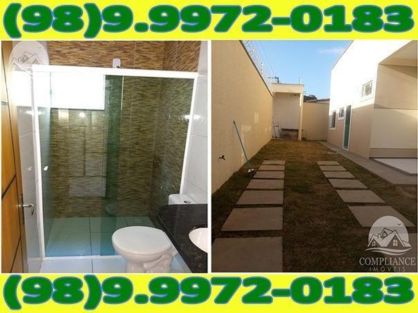 4I1Excelente Casa Nova Com Dois Quartos No Altos Do Turu - Foto 5