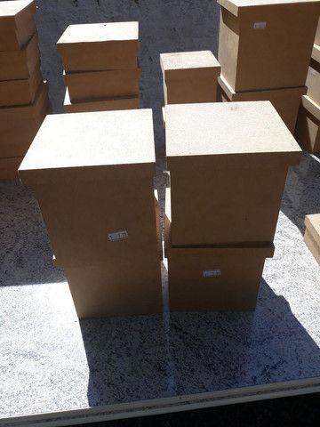Lote de caixas de MDF para artesanato - Foto 3