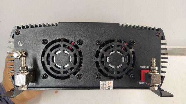 Inversor 1500watts, AC 12 ou 24vdc/127v - Hayonik - Foto 4