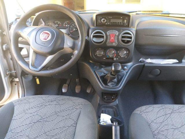 Lindo Fiat Doblo Attractive 1.4 Flex 14/15 Prata - Foto 4