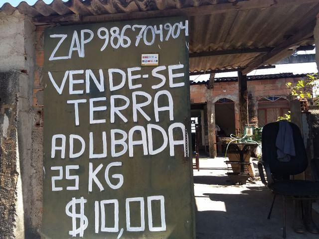 Terra adubada bh 25kilos de terra adubada por $10,00 somente no local zap * - Foto 4