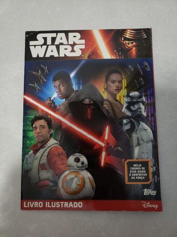 Álbum De Figurinha Star Wars Despertar Da Força