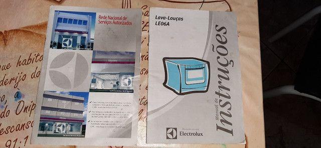 Maquina lavar louças Electrolux Bluetouch seminova