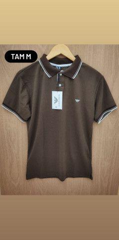 Camisas Gola polo Promoção R$ 45,00 - Foto 2
