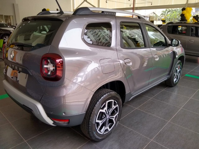 Duster Iconic Cinza