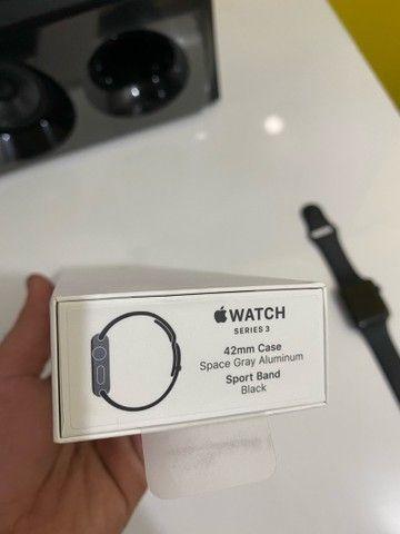 Apple Watch Series 3 42mm menos de um mês de uso - Foto 4