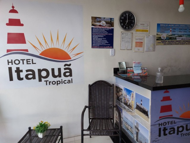 Alugo kitnets Itapua. Particular ou Empresa. Hotel Apart&Residência Tropical Itapua   - Foto 5