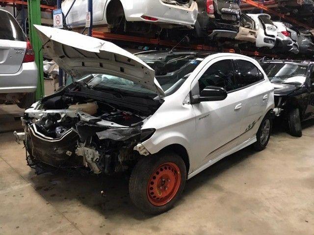 Sucata Chevrolet Onix 1.4 - 2017/2018 - Foto 2