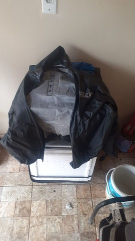 Bag + capa de chuva