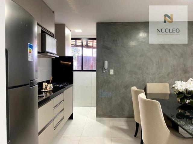 Apartamento com 3 dormitórios à venda, 74 m² por R$ 324.900,00 - Expedicionários - João Pe - Foto 4