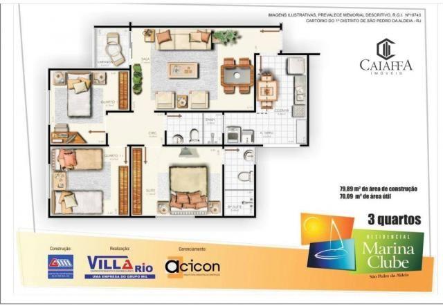 Apartamento à venda, 70 m² por R$ 315.000,00 - Baixo Grande - São Pedro da Aldeia/RJ - Foto 18